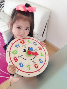 莉颯ちゃん 4才3ヵ月